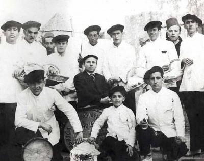 1953 Los vendedores de marisco